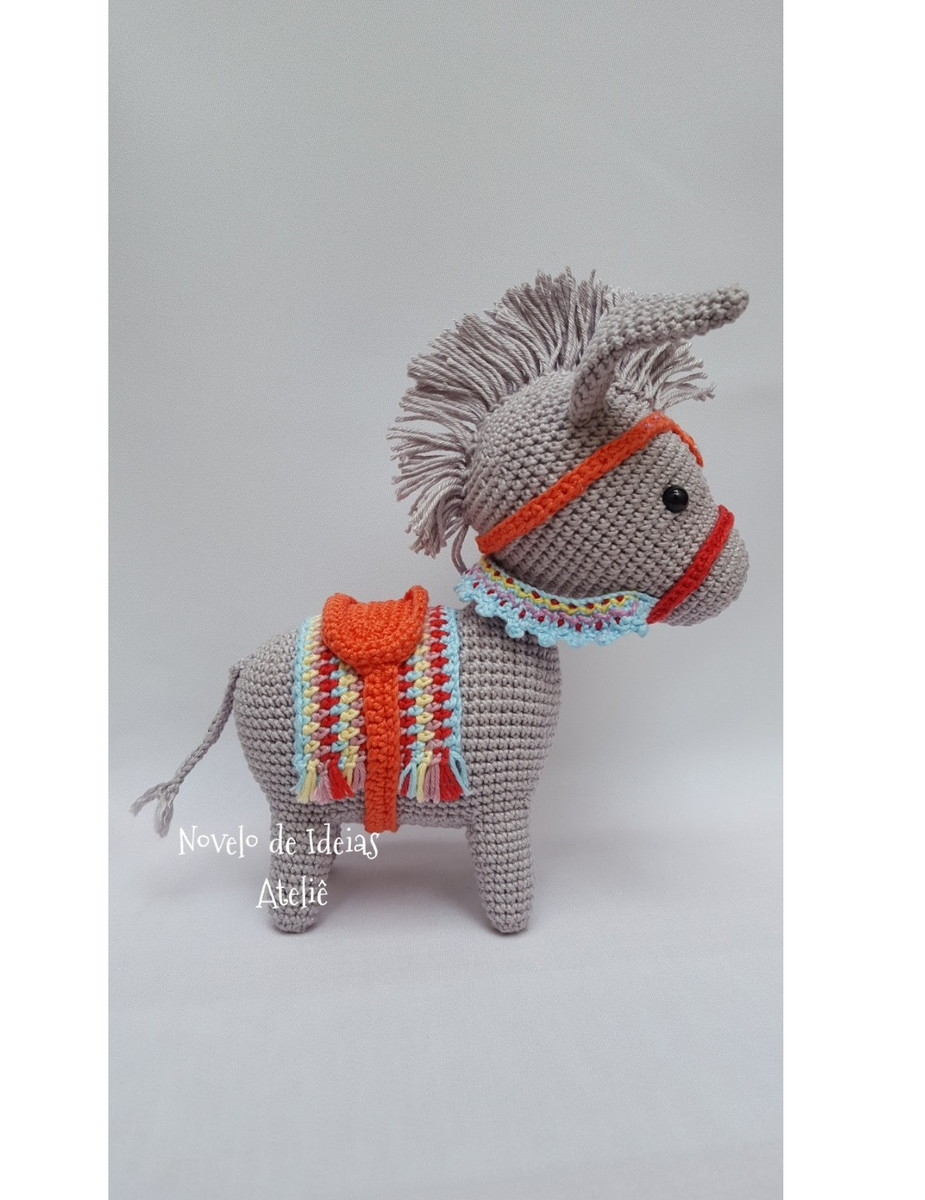 Nachgehäkelt > Pedro, der Esel // Pedro, the donkey - Häkeln macht ... | 1200x925