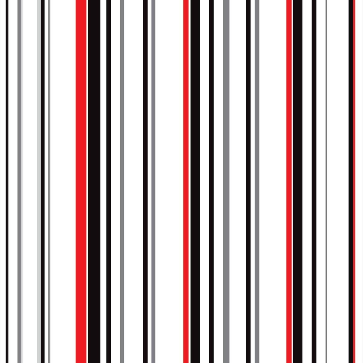 Papel Parede Listras Sobre Tons De Vermelho Preto E Branco No
