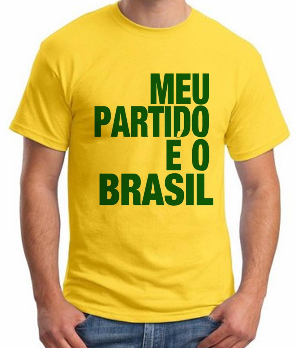Camiseta Meu Partido Bolsonaro no Elo7  5ebf60a355e68