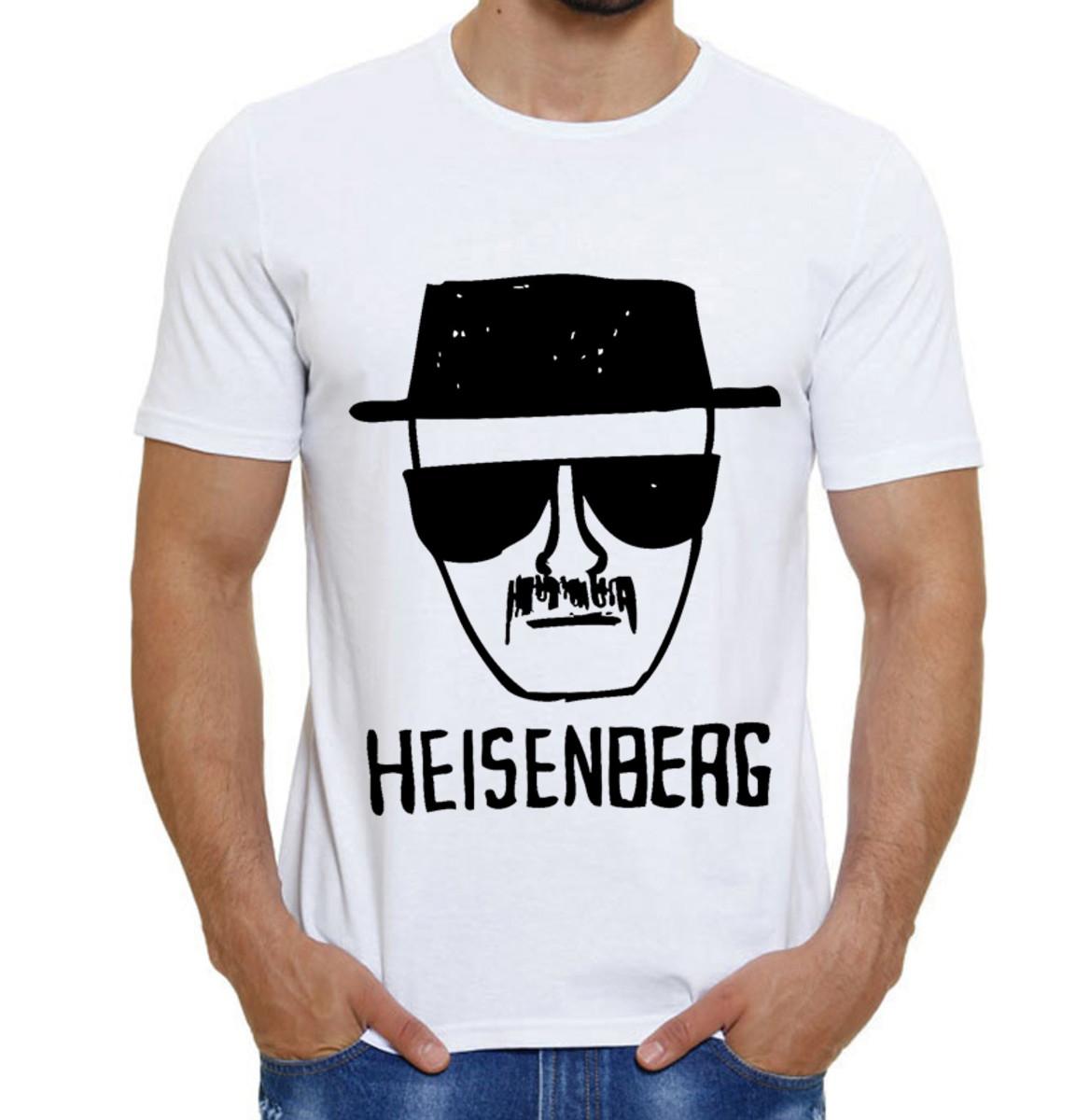 Camiseta Heisenberg Breaking Bad Walter White Série no Elo7 ... f8c8264a06503