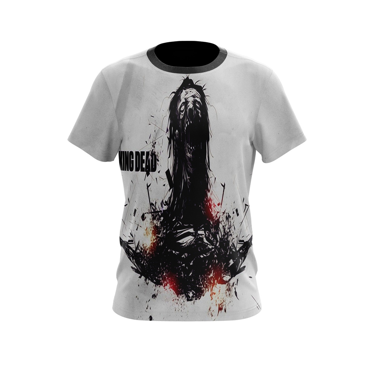 Camiseta Personalizada Criativa Estampa The Walking Dead M1 no Elo7 ... 7652a61fc7c