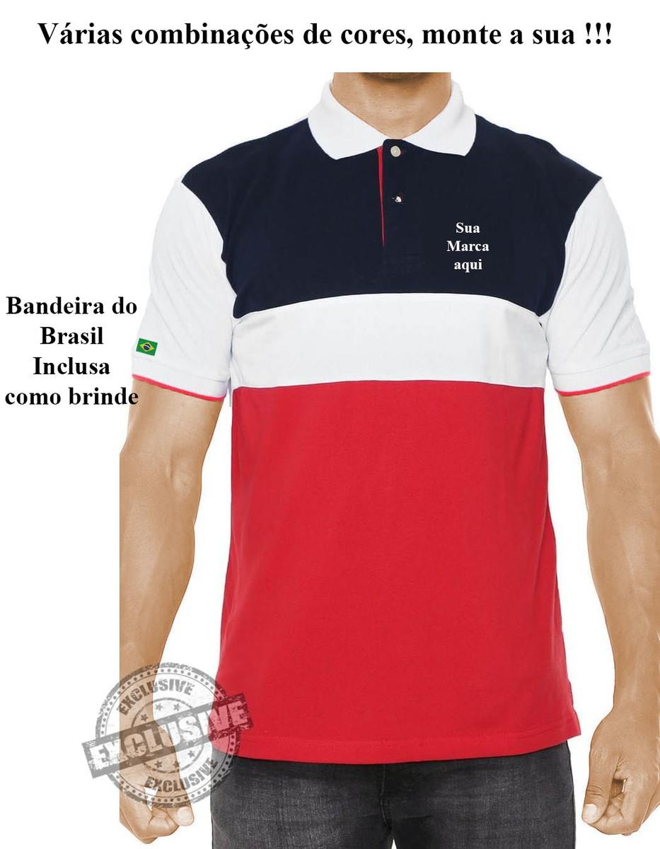 886e71d6c9 Camisa Camiseta pólo para uniformes profissionais kit 4 pçs no Elo7 ...