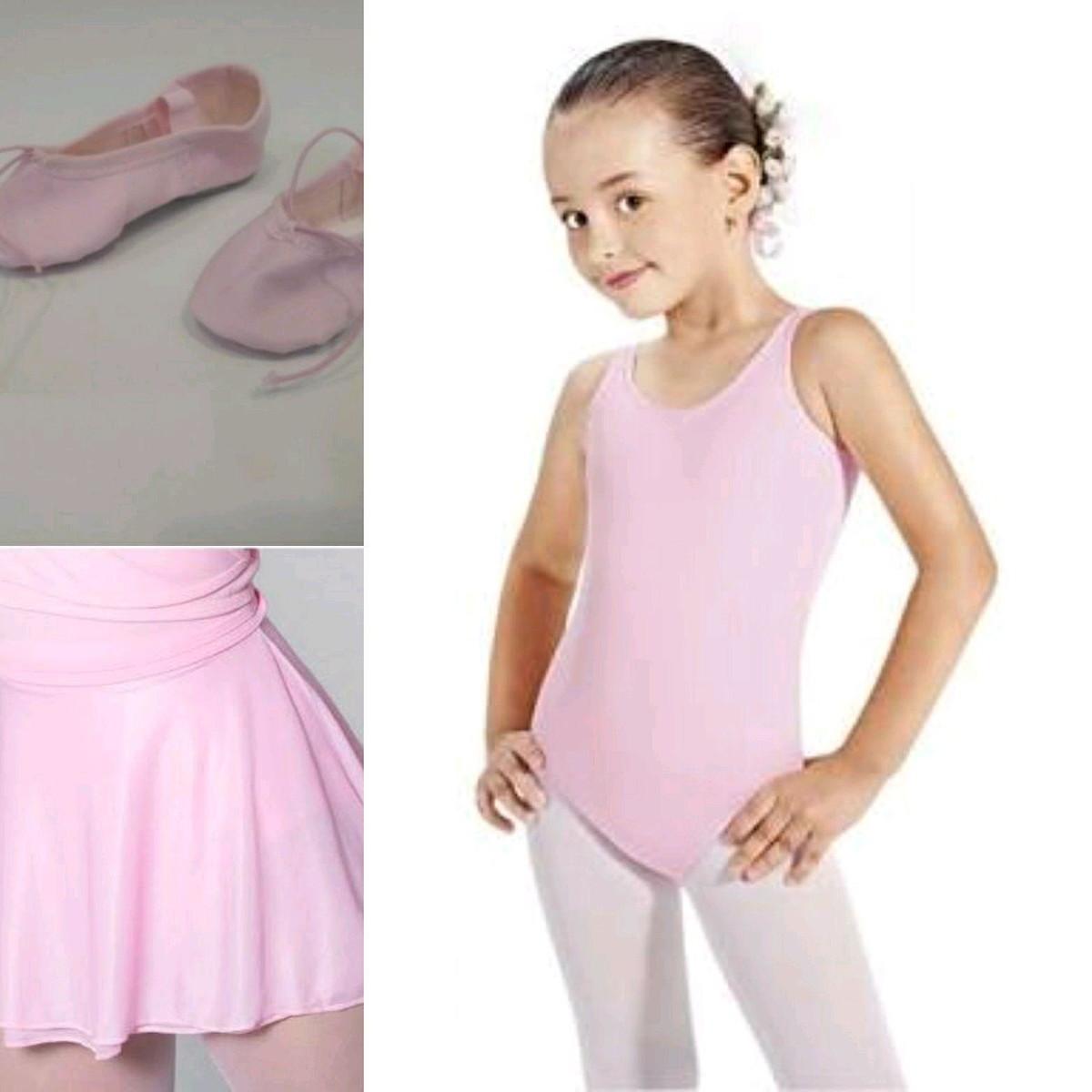 9343c2553d Kit de ballet collant saia sapatilha no Elo7