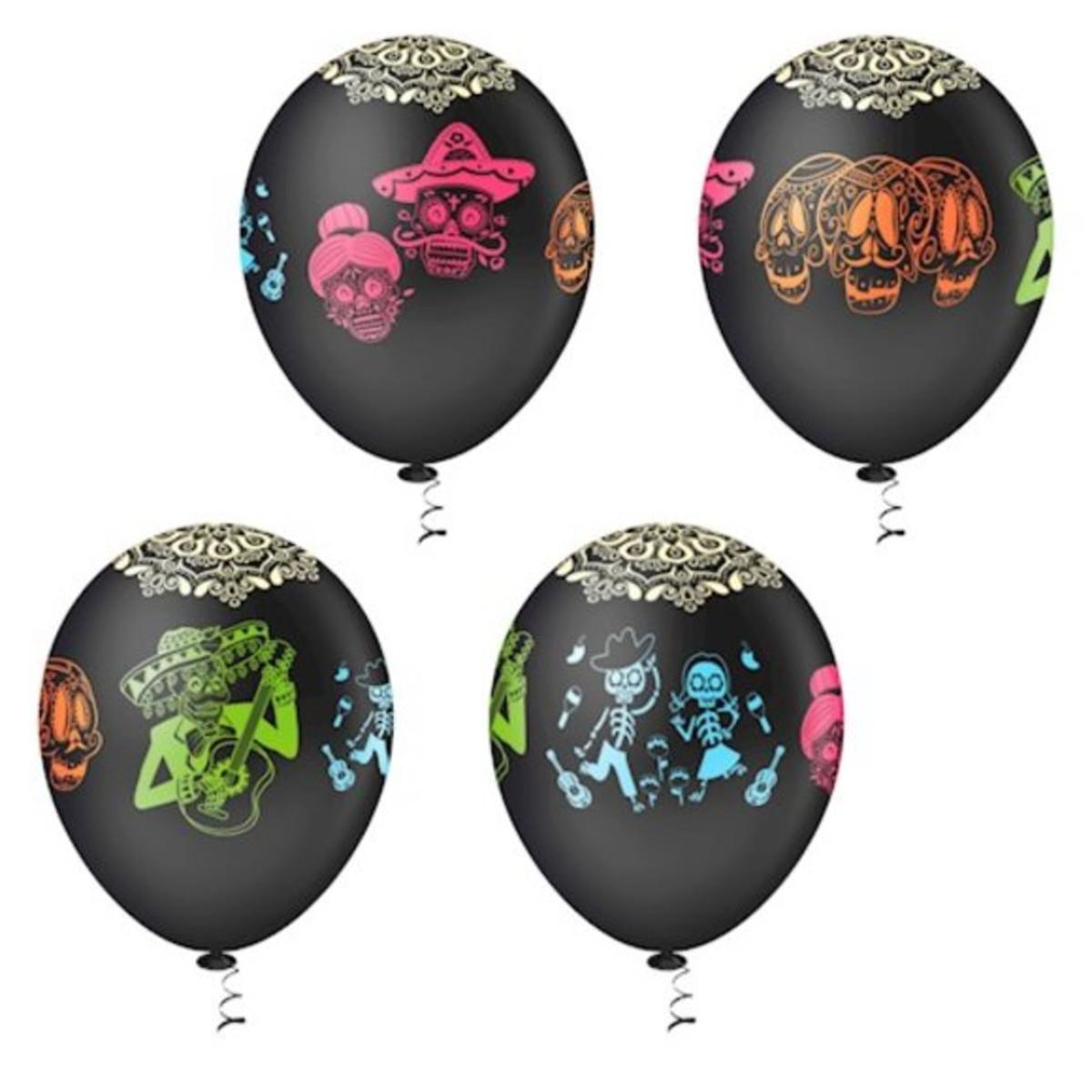 Balão Bola Bexiga Caveira Mexicana- Pct C  25 Balões no Elo7 ... 7a9861bebf6