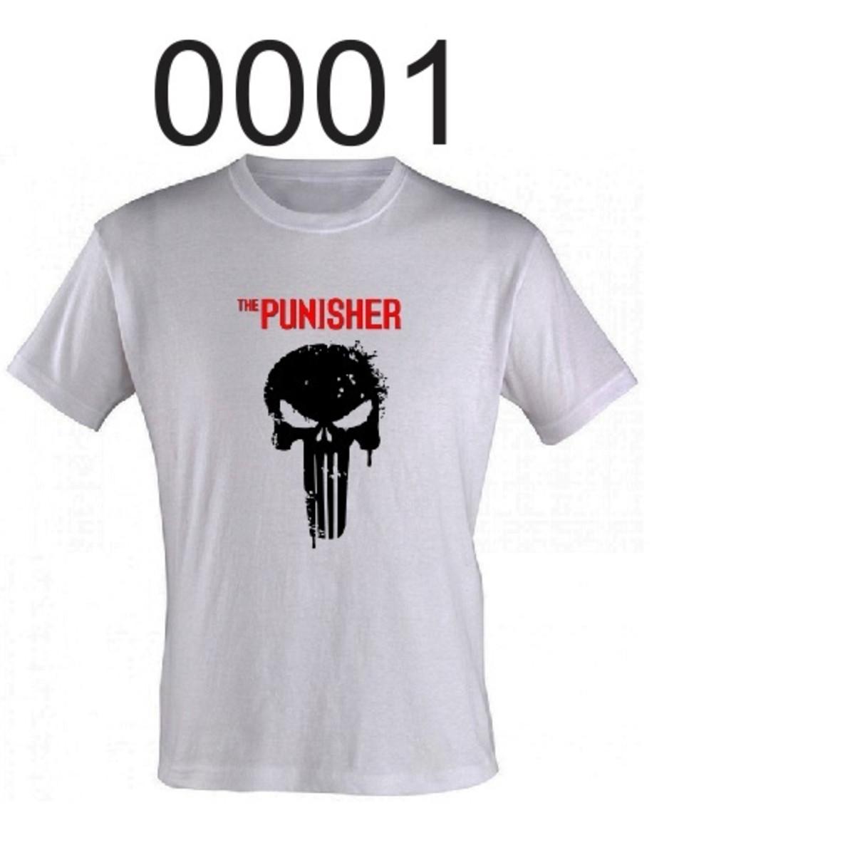 Camisetas branca personalizadas 100% poliéster gola careca no Elo7 ... 3af01b0f7eaa3