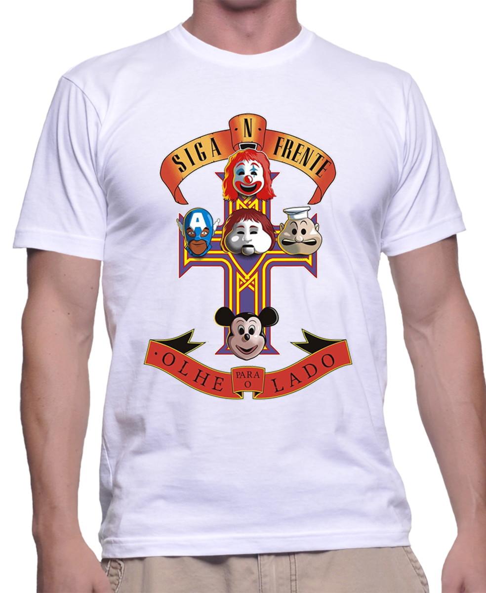 c9e32ebb06 Camiseta Eu Amo São Paulo Sp Orgulho Paulista Bandeira 3053 no Elo7 .