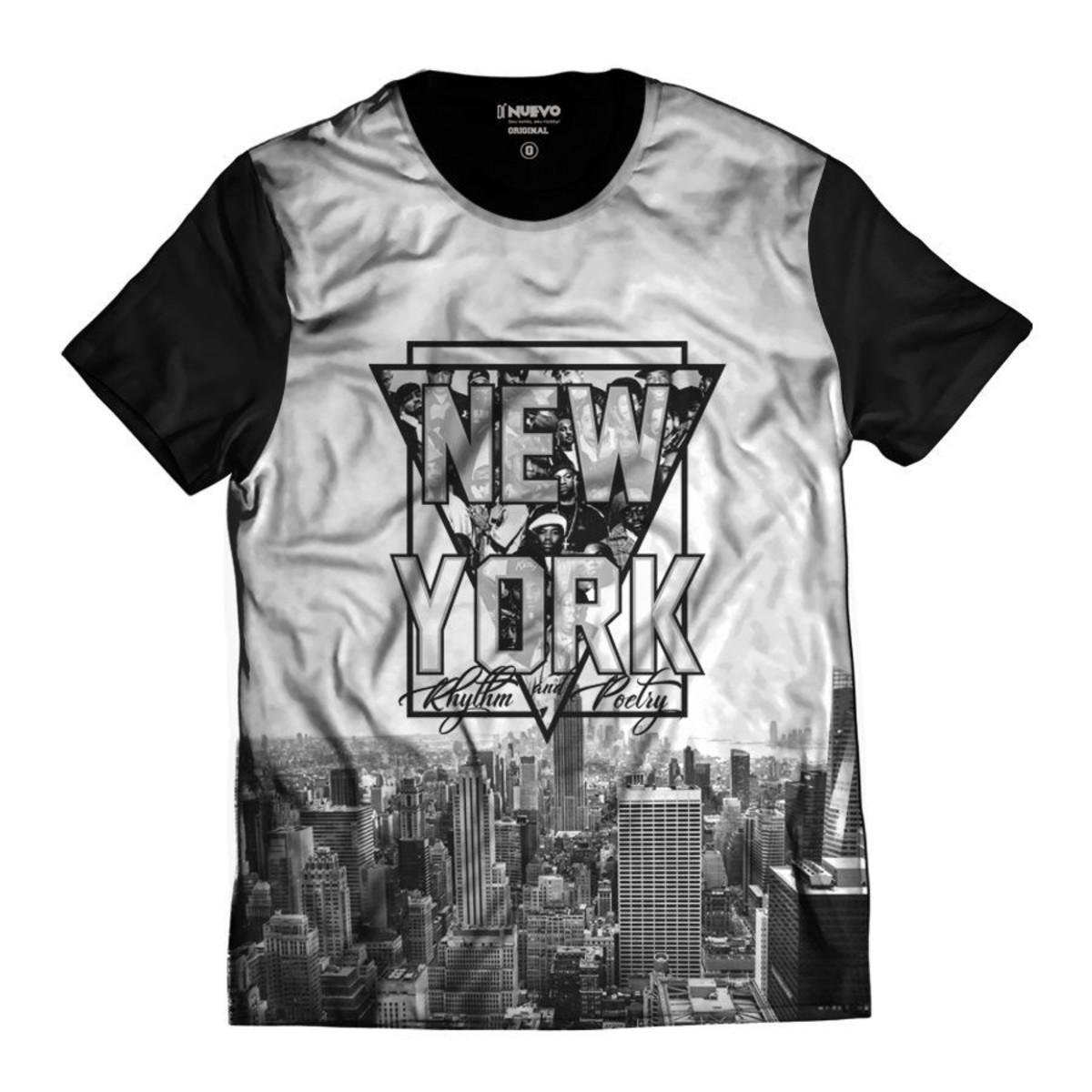 Camiseta New York Rap Hip Hop NY Exclusiva no Elo7  f767cd769f5