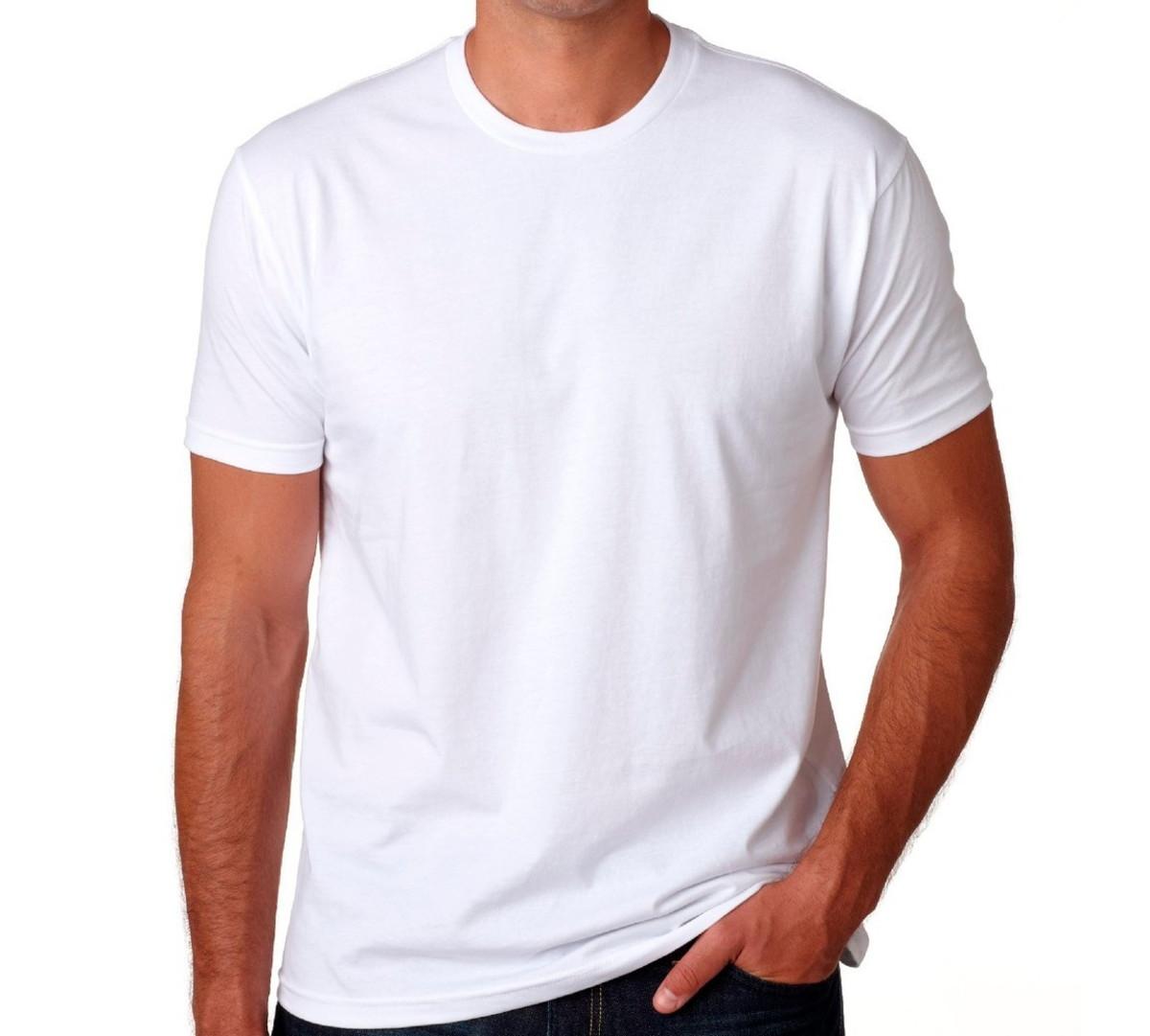 1cb831b82 Camiseta masculina básica manga curta gola redonda no Elo7 ...