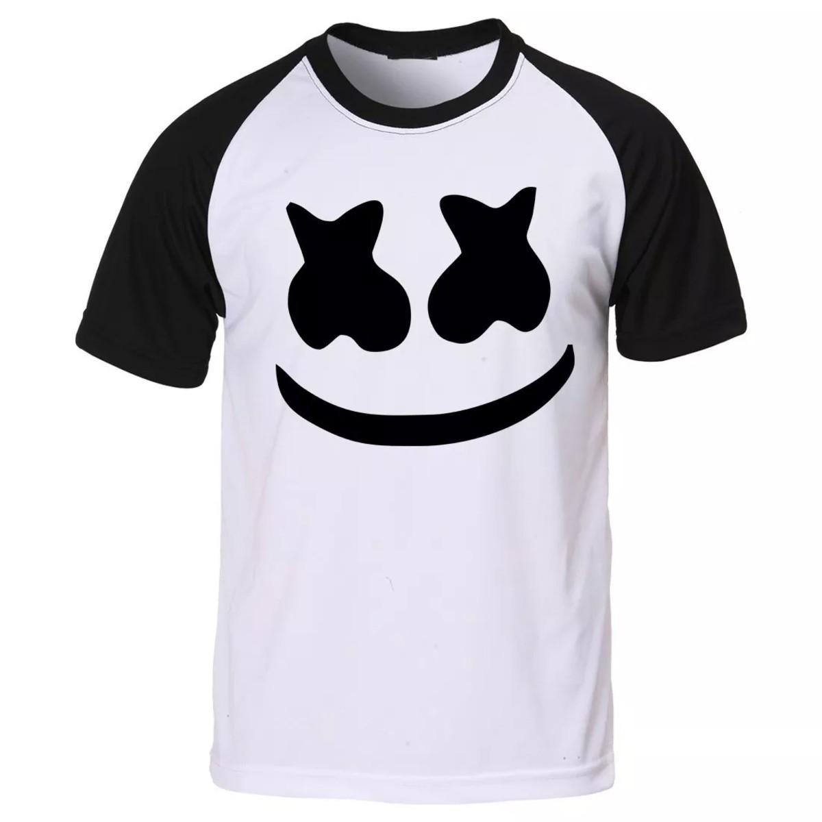 camiseta personalizada dj marshmallow mega promoção no elo7