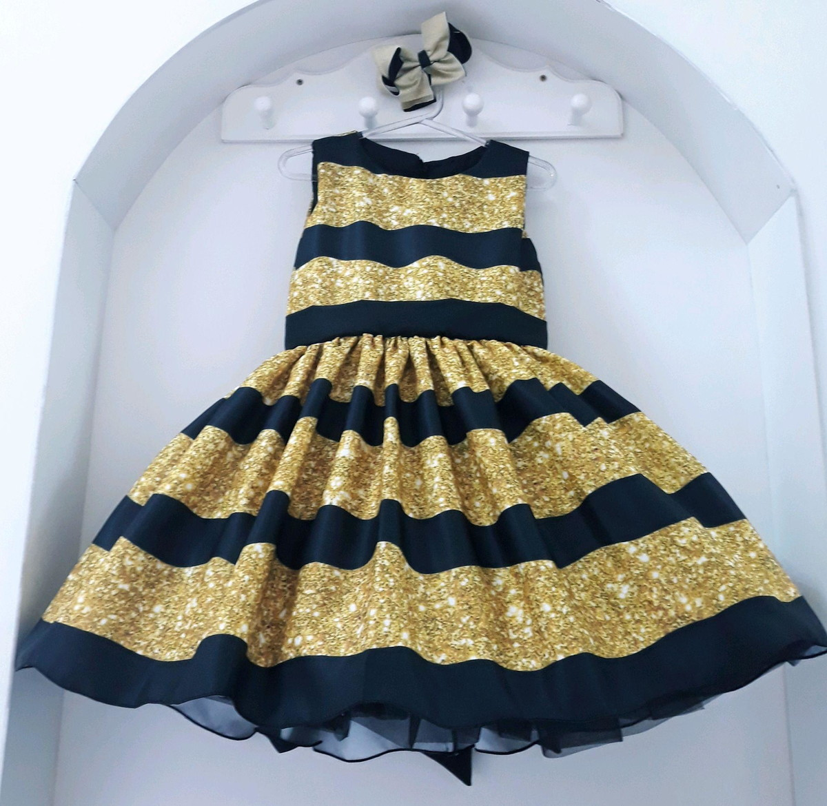 Fantasia Vestido Lol Surprise Bee Queen