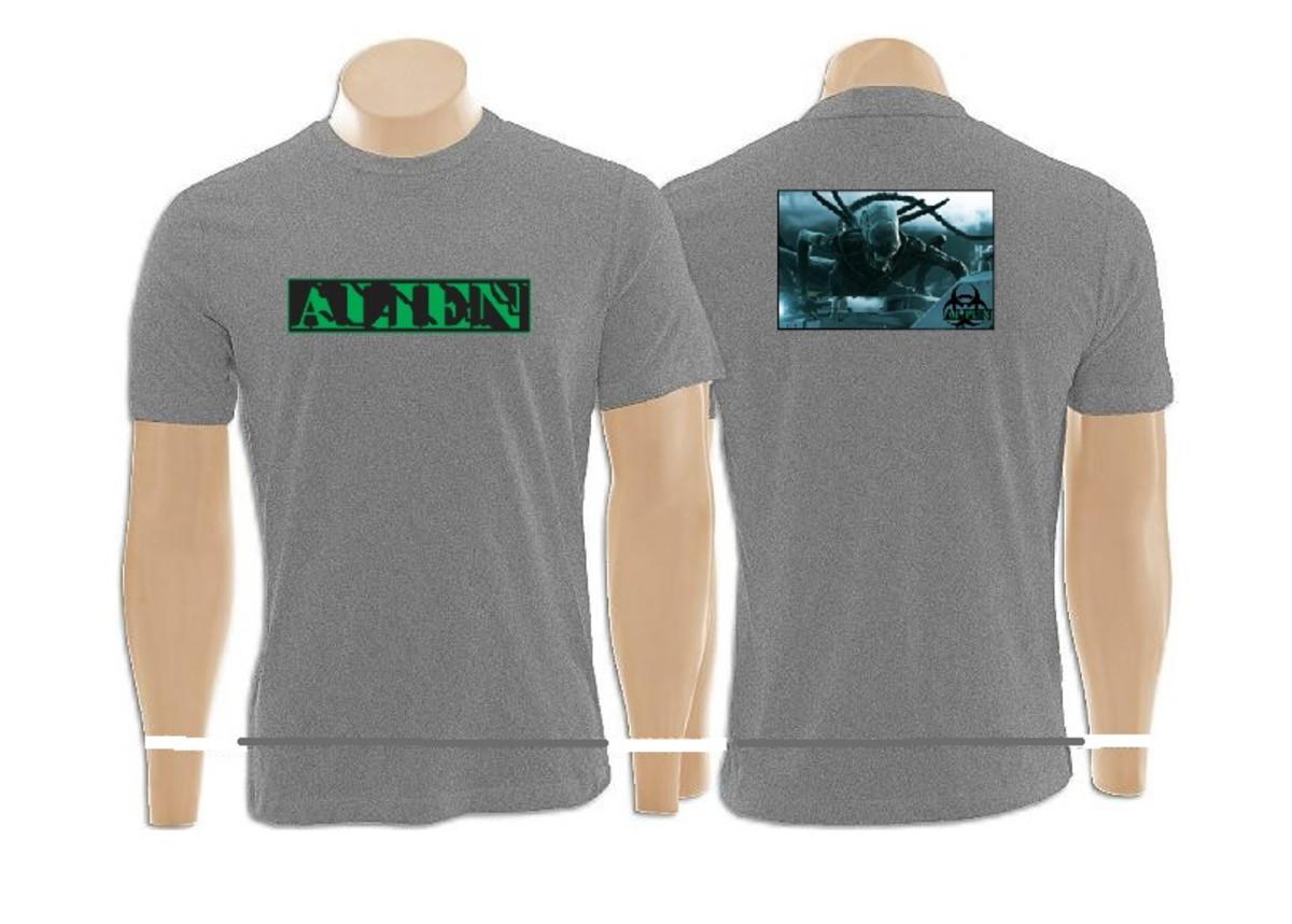 2863725d7ee4c camiseta gola careca 100% poliéster personalizada no Elo7