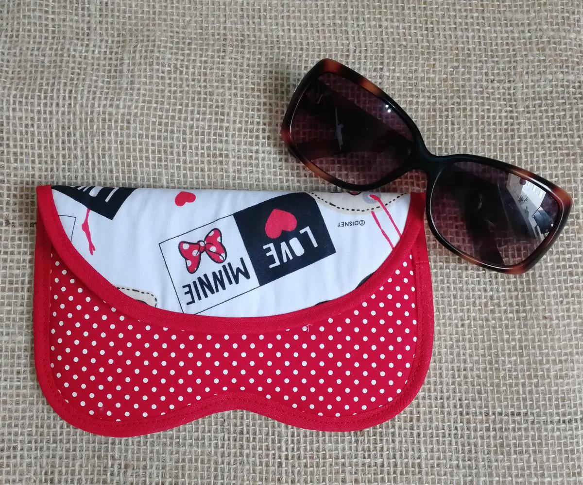 86121f570 Porta Óculos - Minnie no Elo7 | Sulamita Bijuterias e Acessórios ...