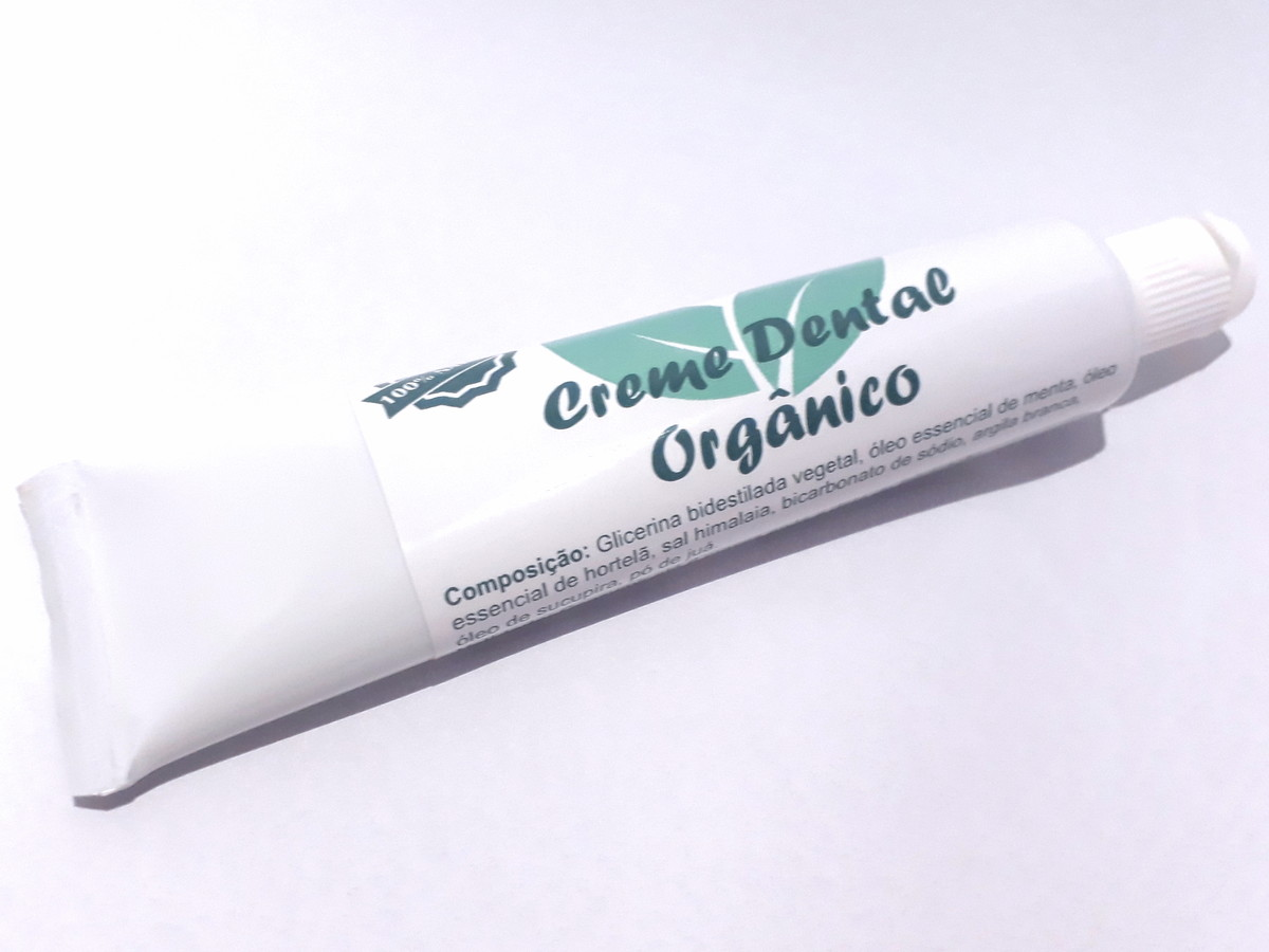 Creme Dental Organico Sem Fluor No Elo7 Up Natural A6fc97