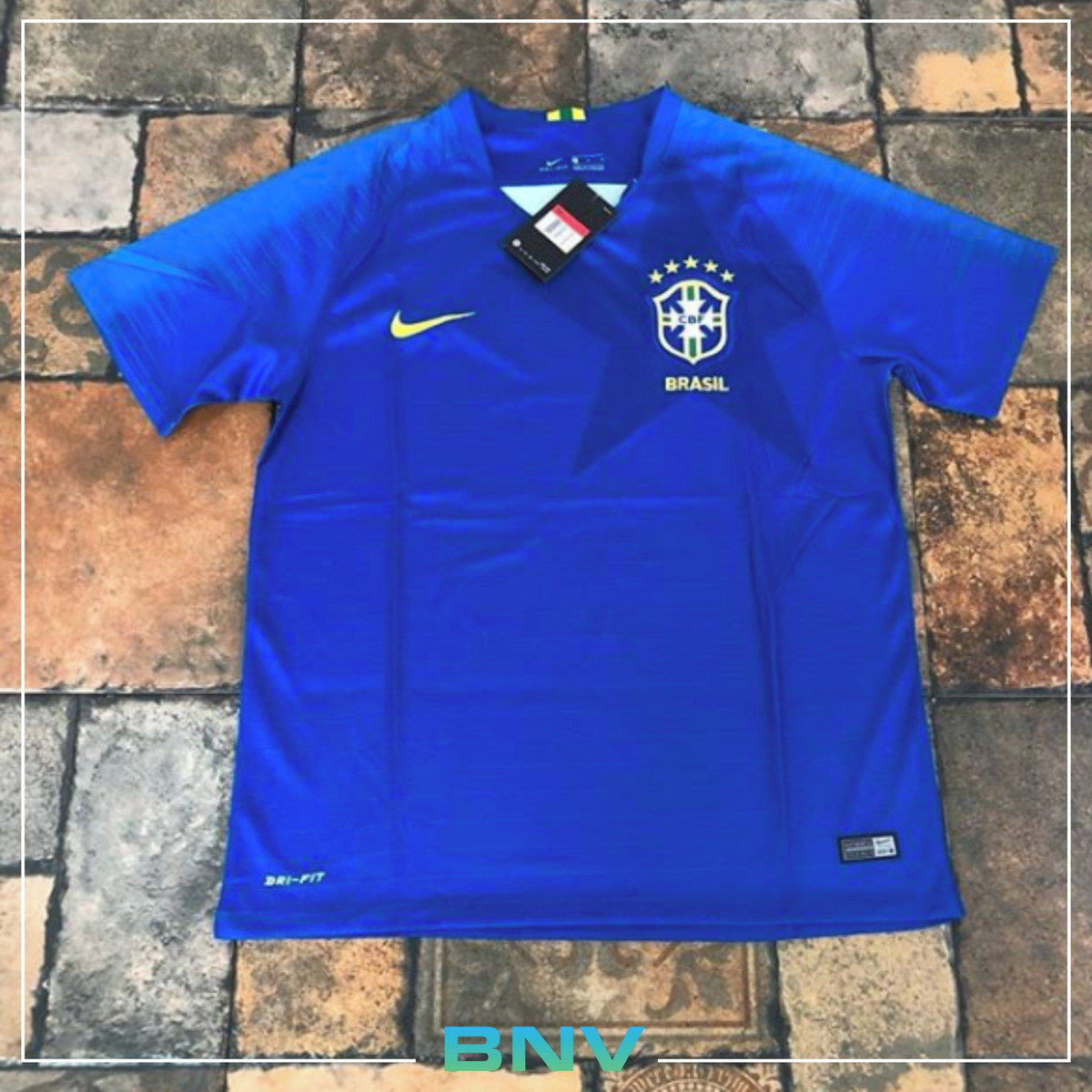 Camisa Azul Seleção Brasileira 2018 - Copa Do Mundo no Elo7  1b3ca7a8e4ed0