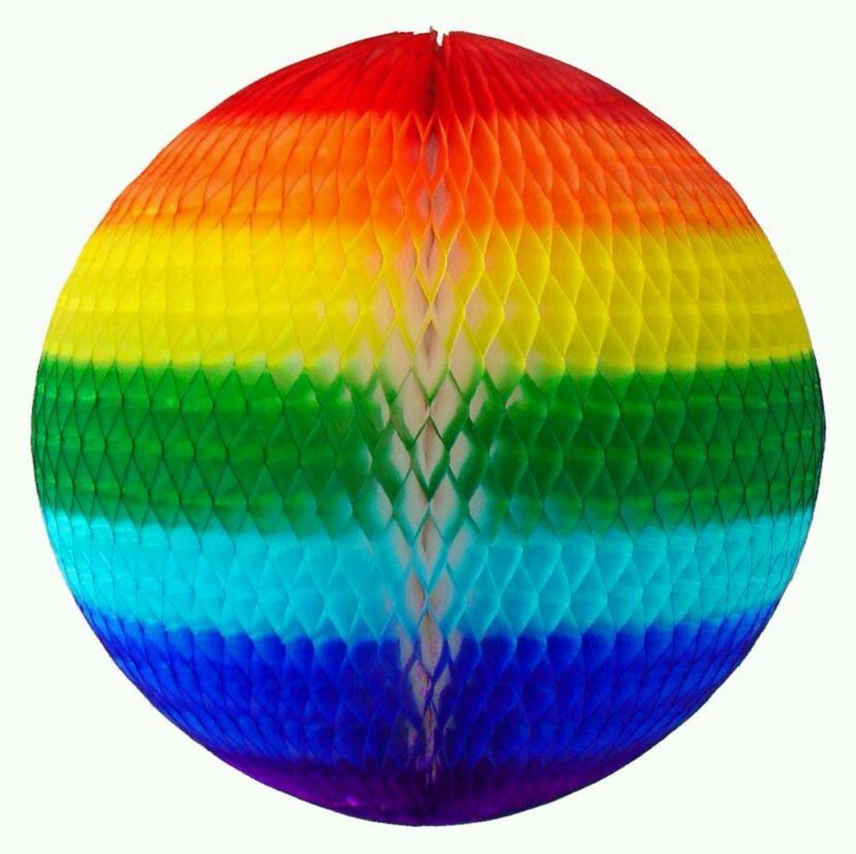 GLOBO 48 cm Arco Iris decoração festa junina com bolas no Elo7 | GiroToy  Enfeites (D6840E)