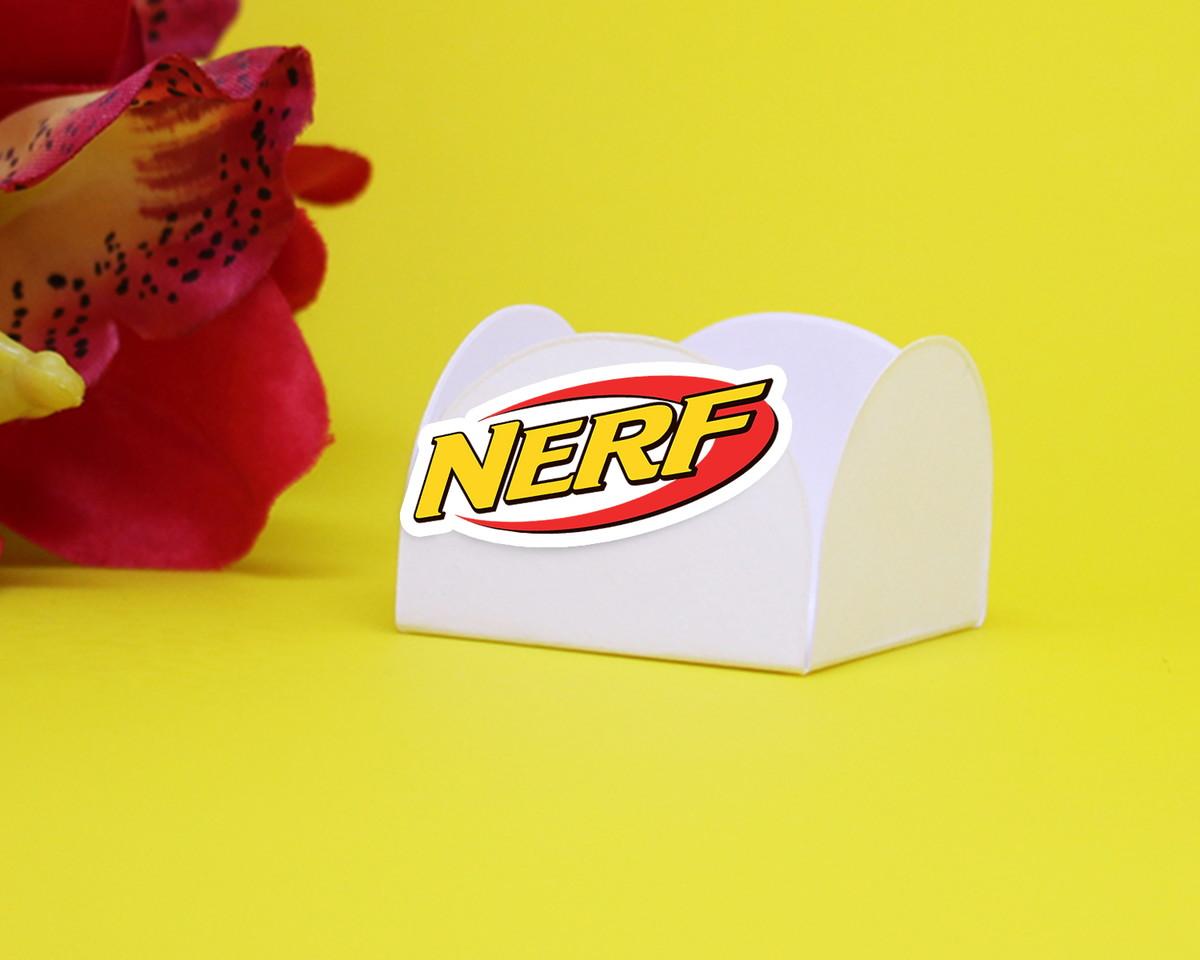 e940f49d7d6fe Forminha para doce com aplique - Nerf no Elo7   A Carol que fez ...