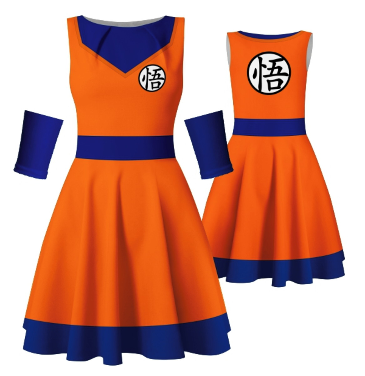 Vestido Goku Dragon Ball Z Cosplay Anime Halloween Fantasia no Elo7 ... 221f1ce444a1