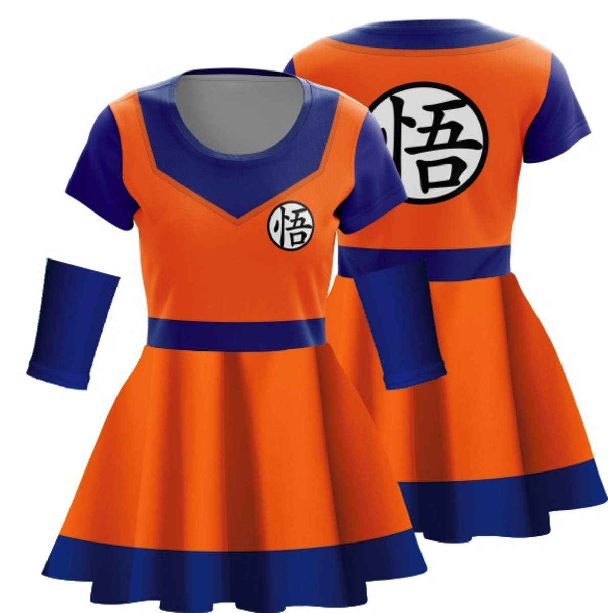 Vestido Goku Cosplay Dragon Ball Z Halloween Fantasia Anime no Elo7 ... 31eaac619cea