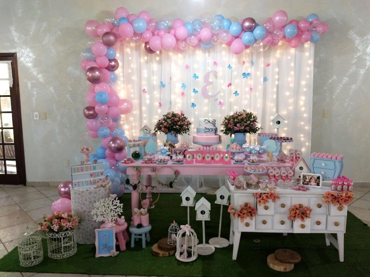 Decoraç u00e3o jardim encantado em Curitiba no Elo7 Rozangela Mazur Festa Infantil (D6C26C) -> Decoração De Festa Infantil Jardim Encantado Rustico