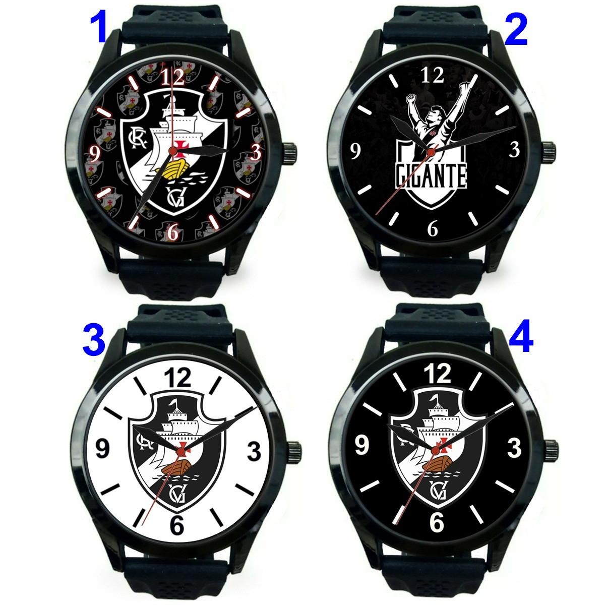69ad23fa260 1 Relógio pulso personalizado esportivo Vasco barato no Elo7 ...