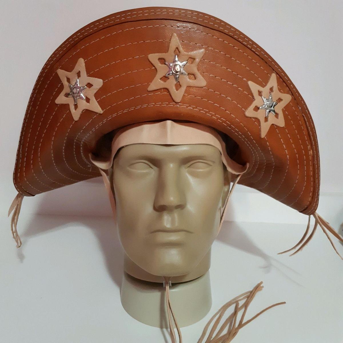 54e7554e46 Chapéu de Lampião em Couro no Elo7 | Shop Maria Bonita (D7162D)