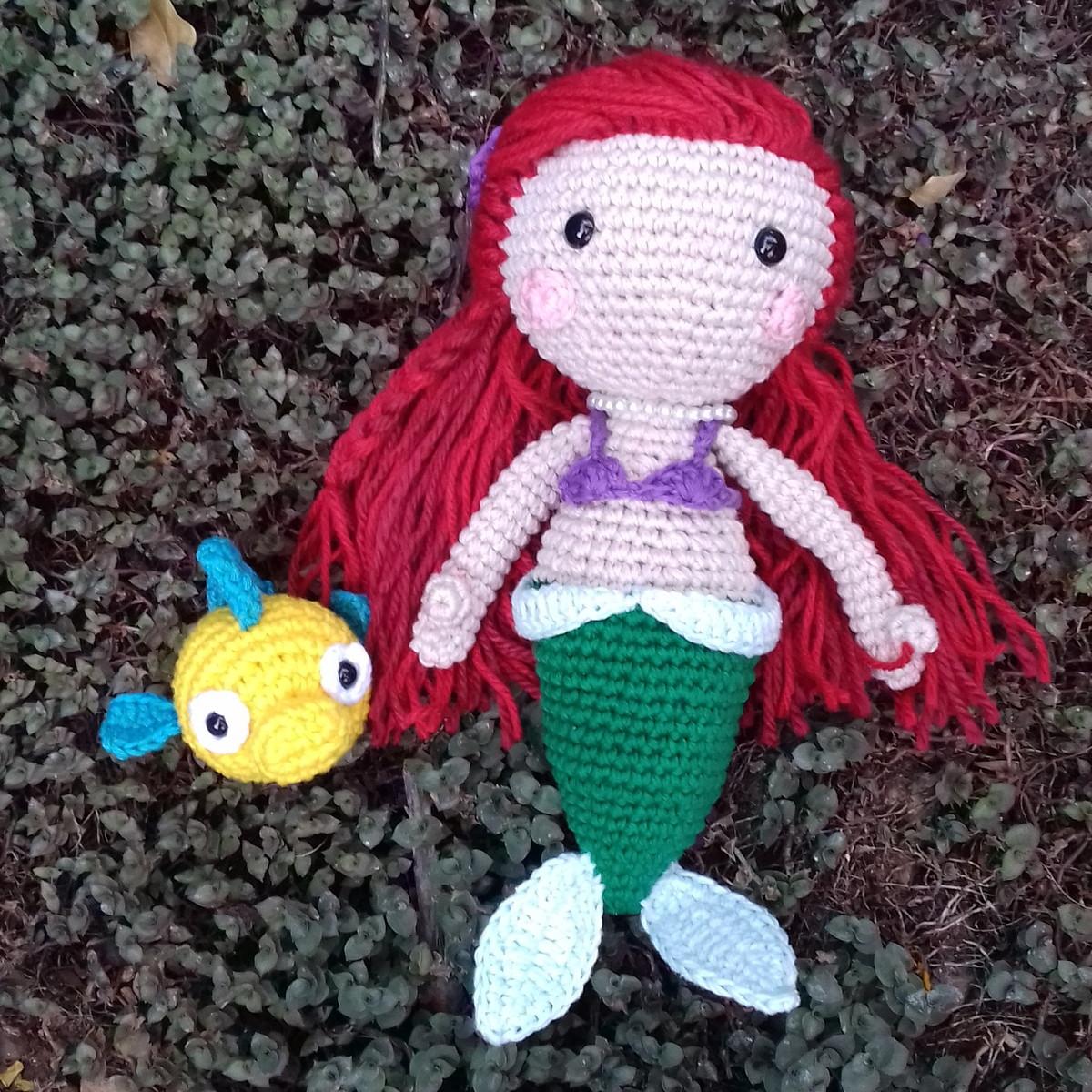 Goldfish - free pdf crochet pattern | Kostenlos amigurumi muster ... | 1200x1200