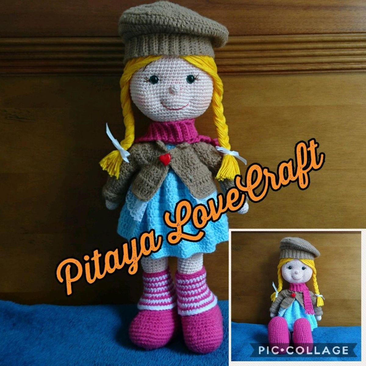 Tonton Doll, Amigurumi Samyeli Bebek | Crafting | Crochet stitches ... | 1200x1200