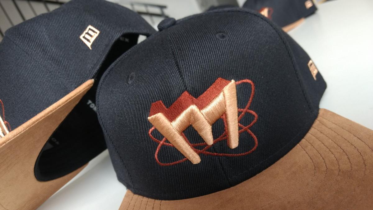 095208887f Boné bordado logotipo arte personalizado no Elo7