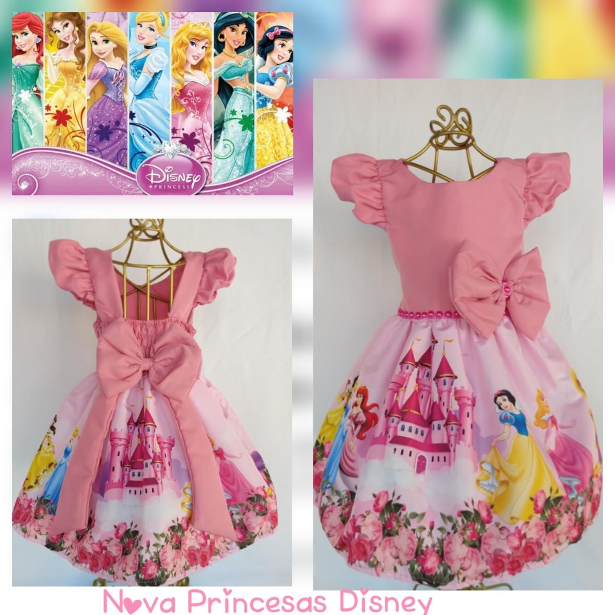 Vestido Princesas Disney