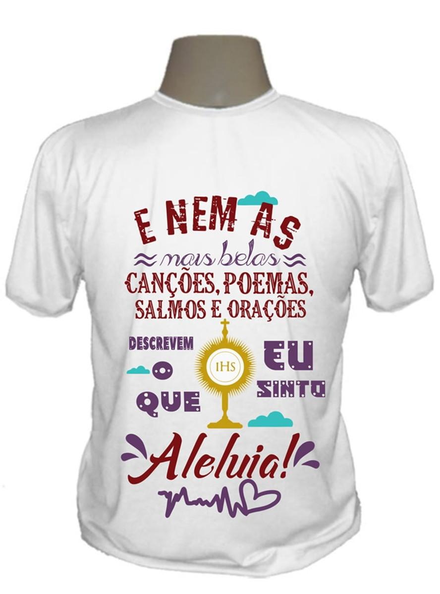 d2713d9d625 Camiseta gospel