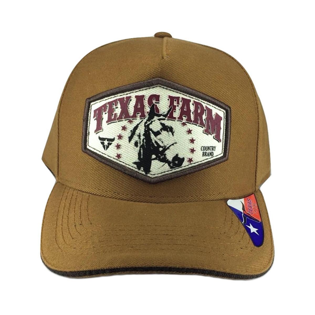 271fe9a74fb7c Boné De Aba Reta Country Texas Farm Country Brand no Elo7