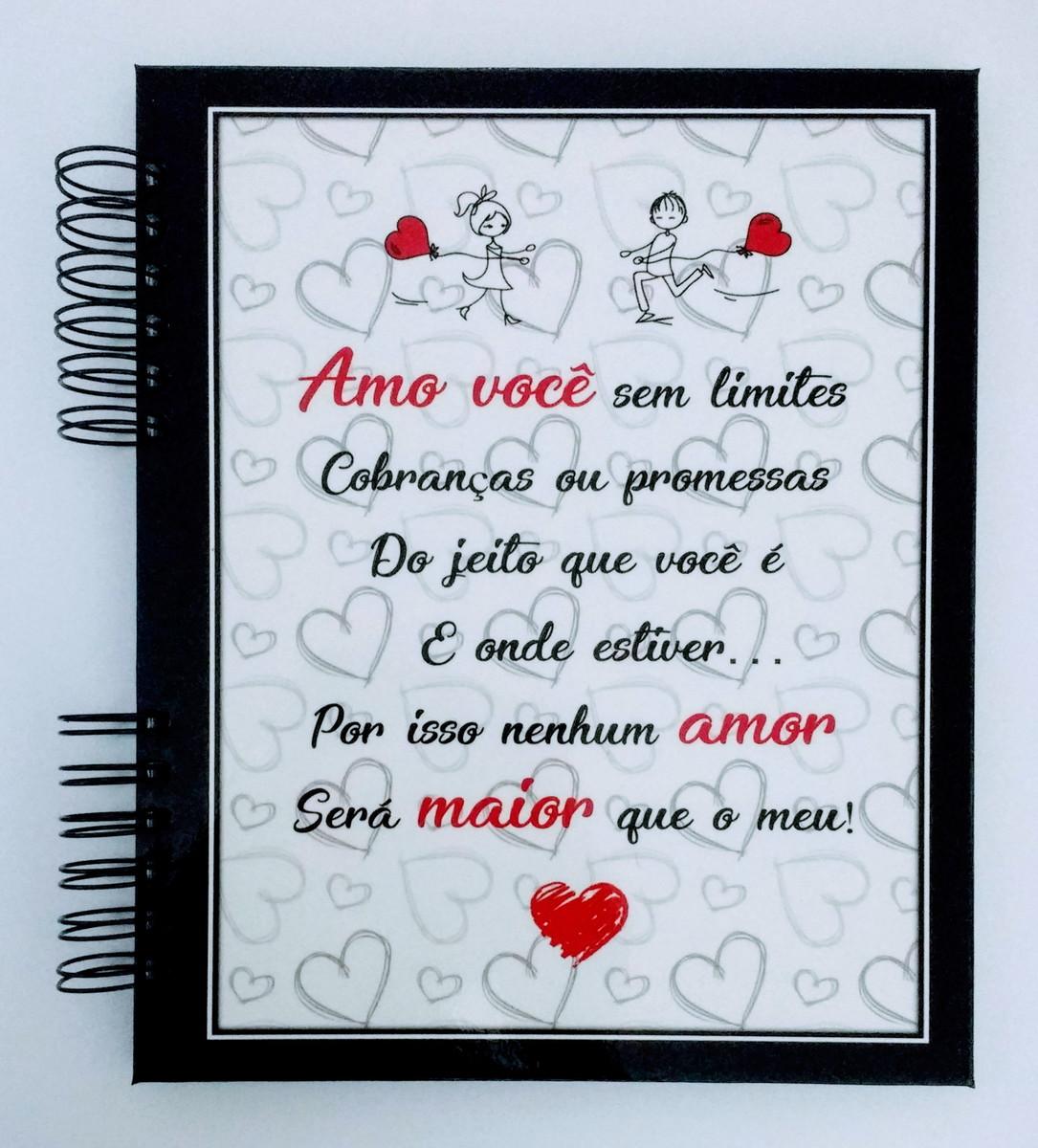 álbum Scrapbook Aniversário Namoro Amo Você No Elo7 Viva O