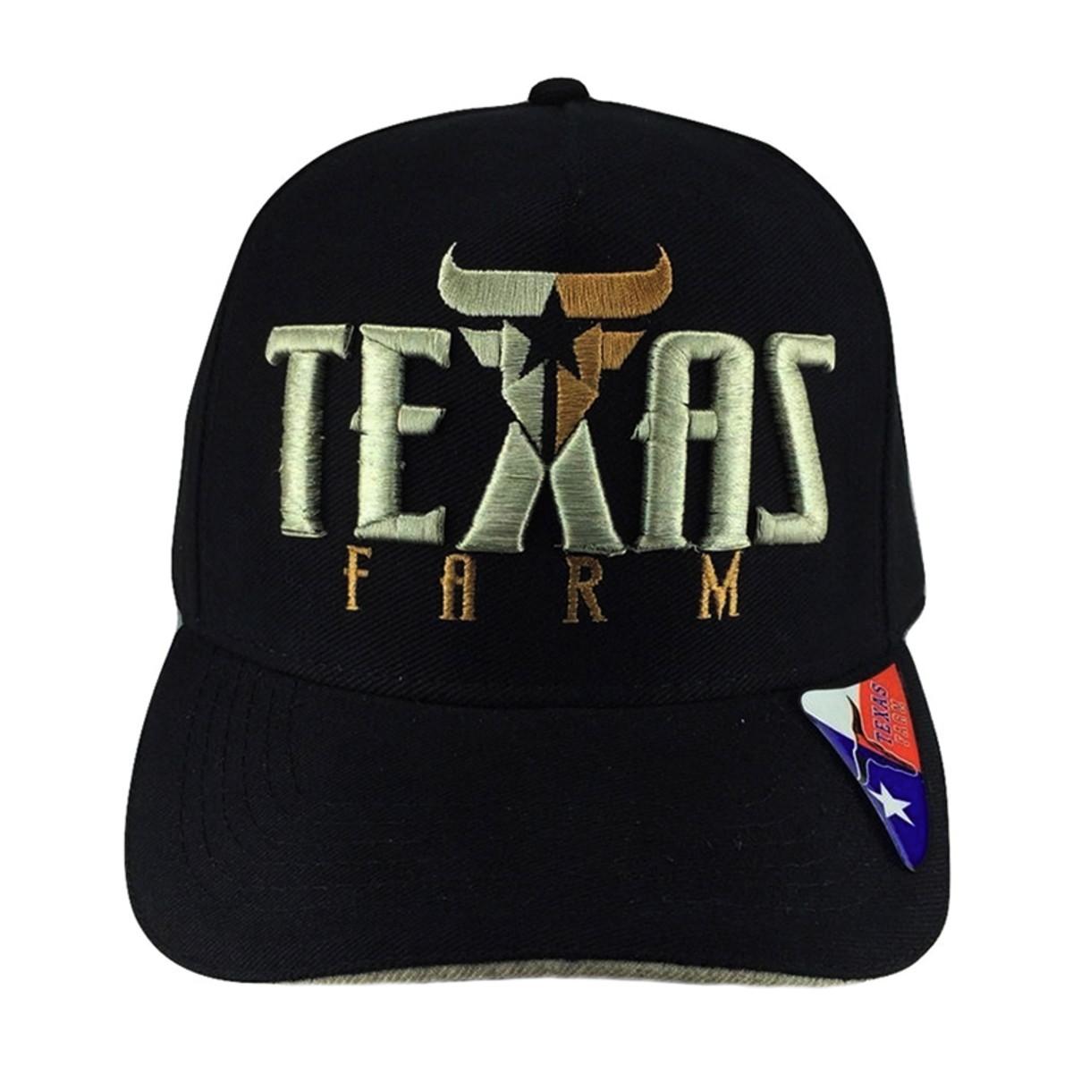 082213a23838e Boné De Aba Reta Country Texas Farm Texas no Elo7