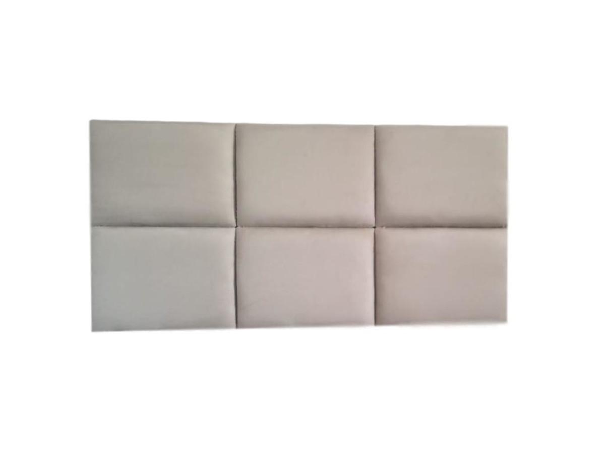 00f9e5fb2 Zoom · Cabeceira casal para cama box 138 módulos estofados 1