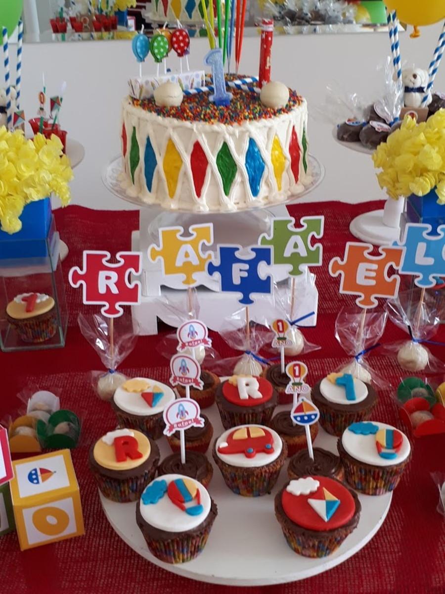 Decoração De Mesa Festa Infantil No Elo7 Atelier De Doces E
