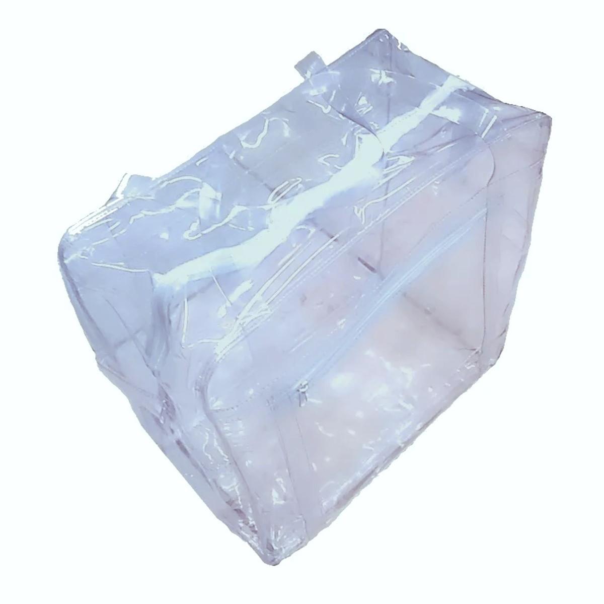 3f3a2325b Sacola em PVC cristal grosso tamanho médio no Elo7 | Mania Mariana ...