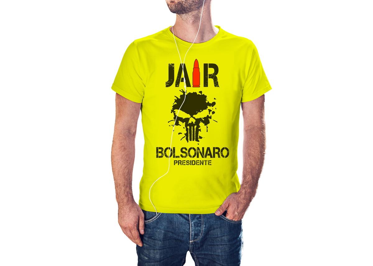 13955e0f3c Zoom · Camiseta Camisa Jair Bolsonaro Amarela Bolsomito Presidente