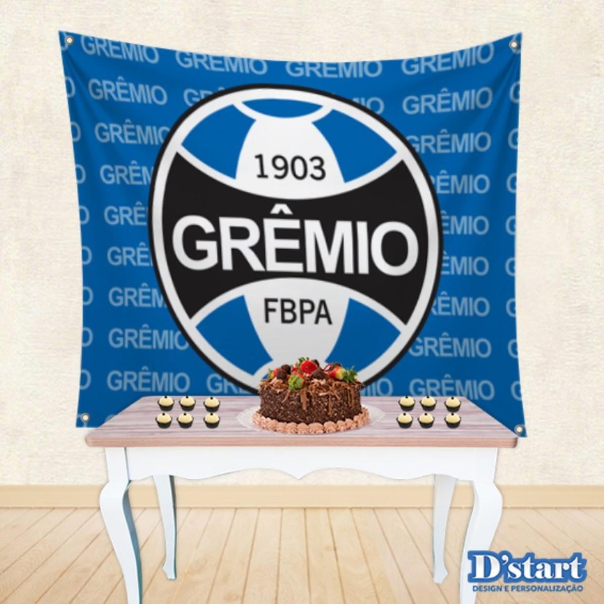 Painel Festa em Tecido Time de Futebol Grêmio Mod.7 no Elo7  3468be6900683
