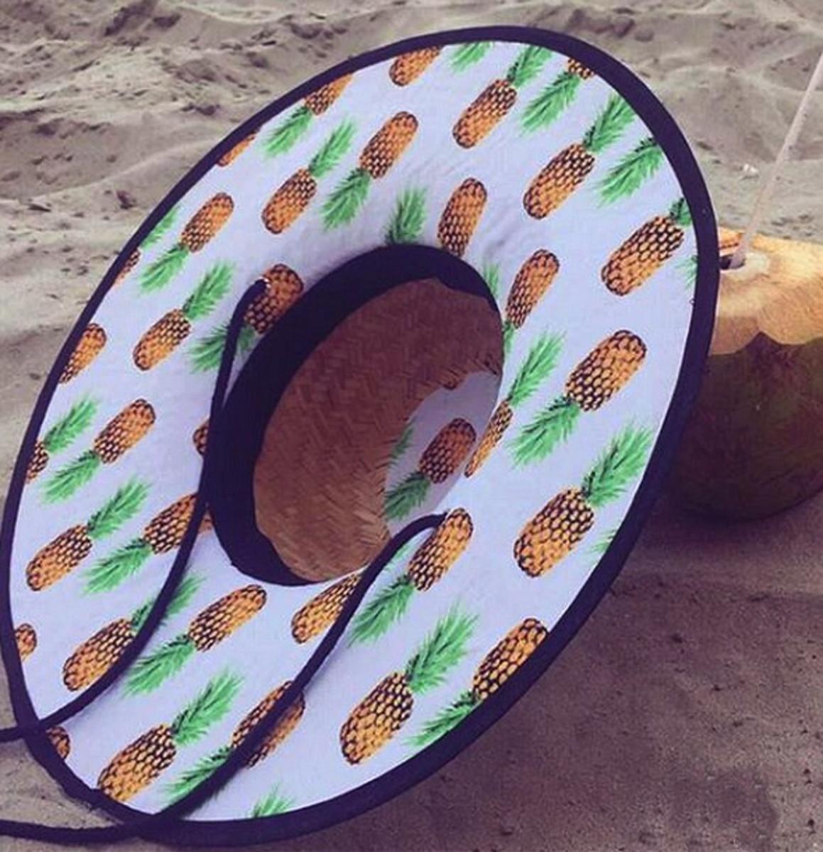 a6edaaa668b74 Chapéu de Praia modelo Surf estampado no Elo7