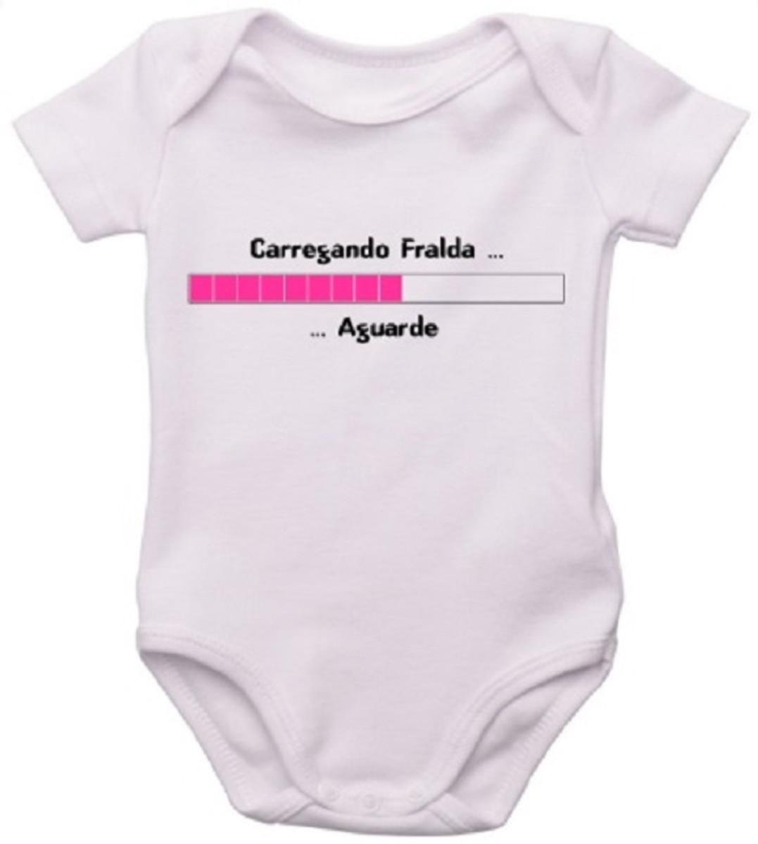 cbe72a970 Body Bori Borie Infantil Bebe Personalizado Carregando frald no Elo7 ...