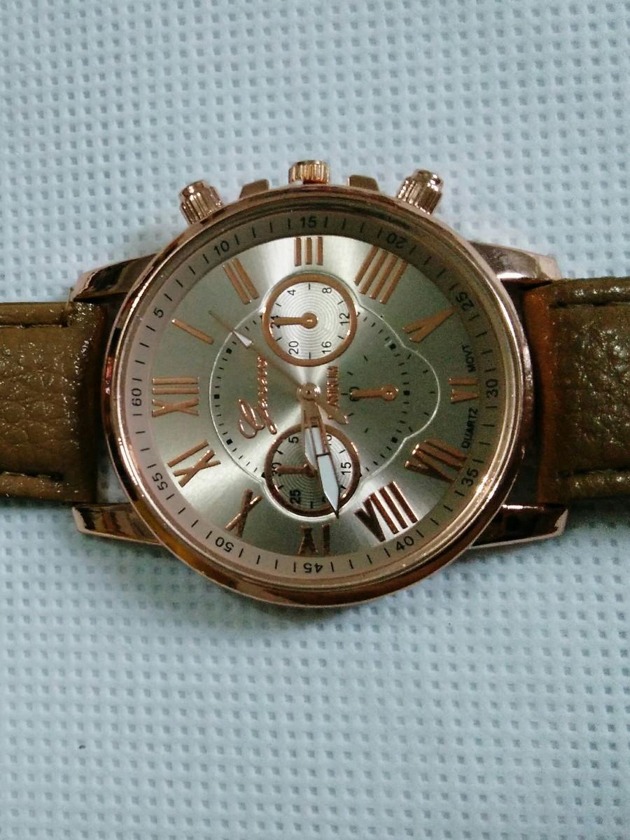 fc00f35768b Relógio feminino geneva no Elo7