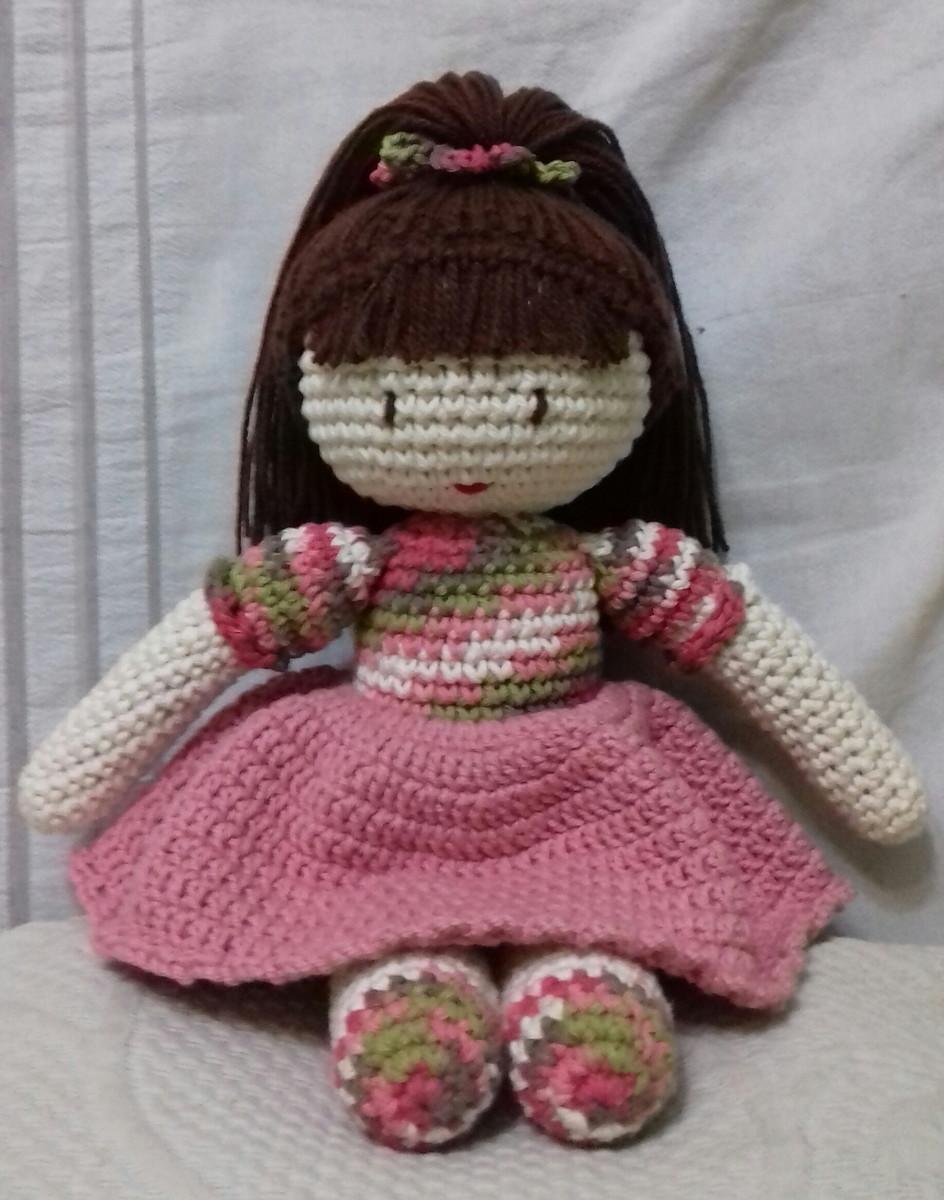 Boneca amigurumi/ boneca crochê (Loira) no Elo7 | Novelo de ideias ... | 1200x944