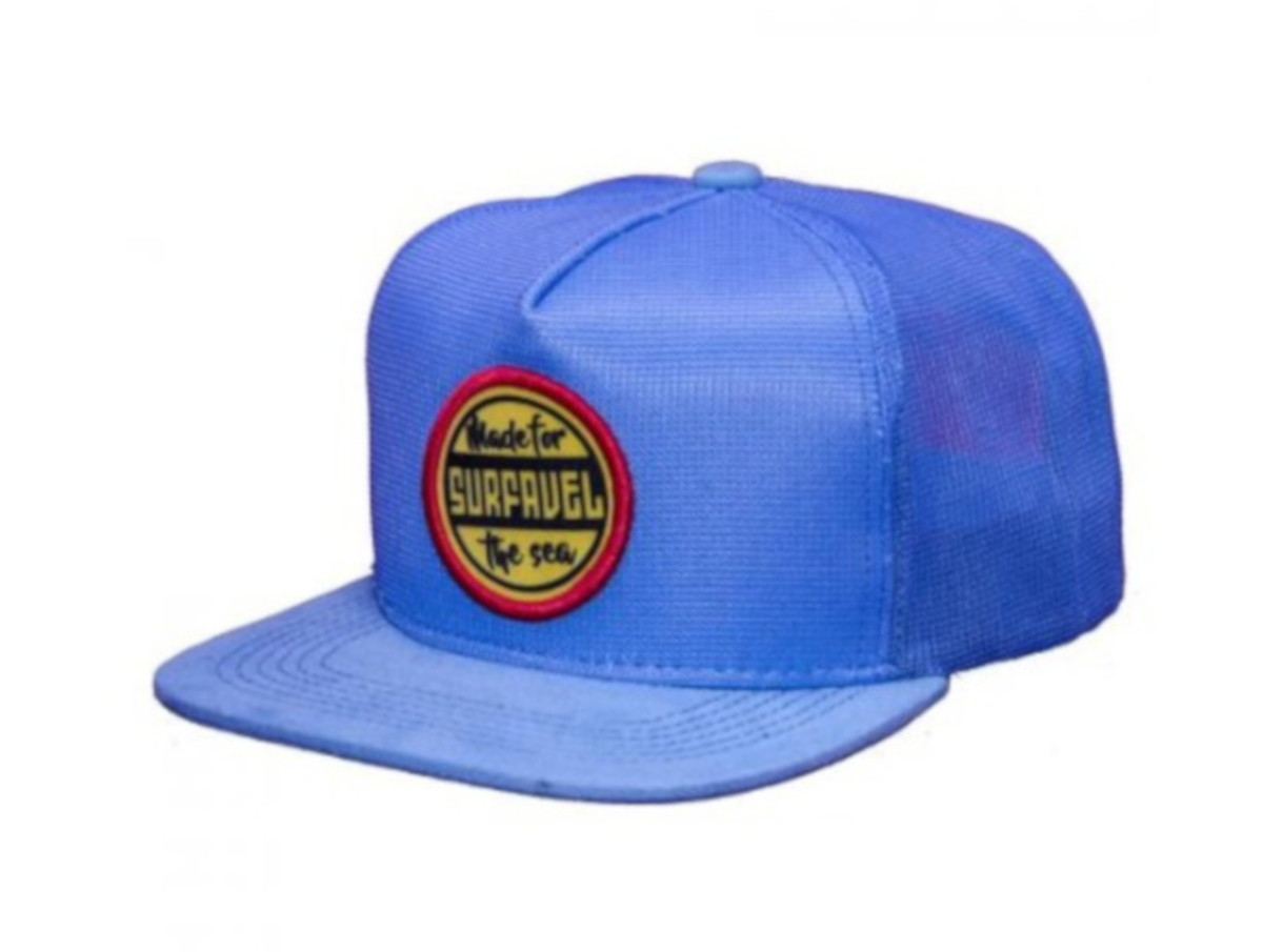 66c741b506b63 Boné Surfavel Snapback The Sea Azul no Elo7