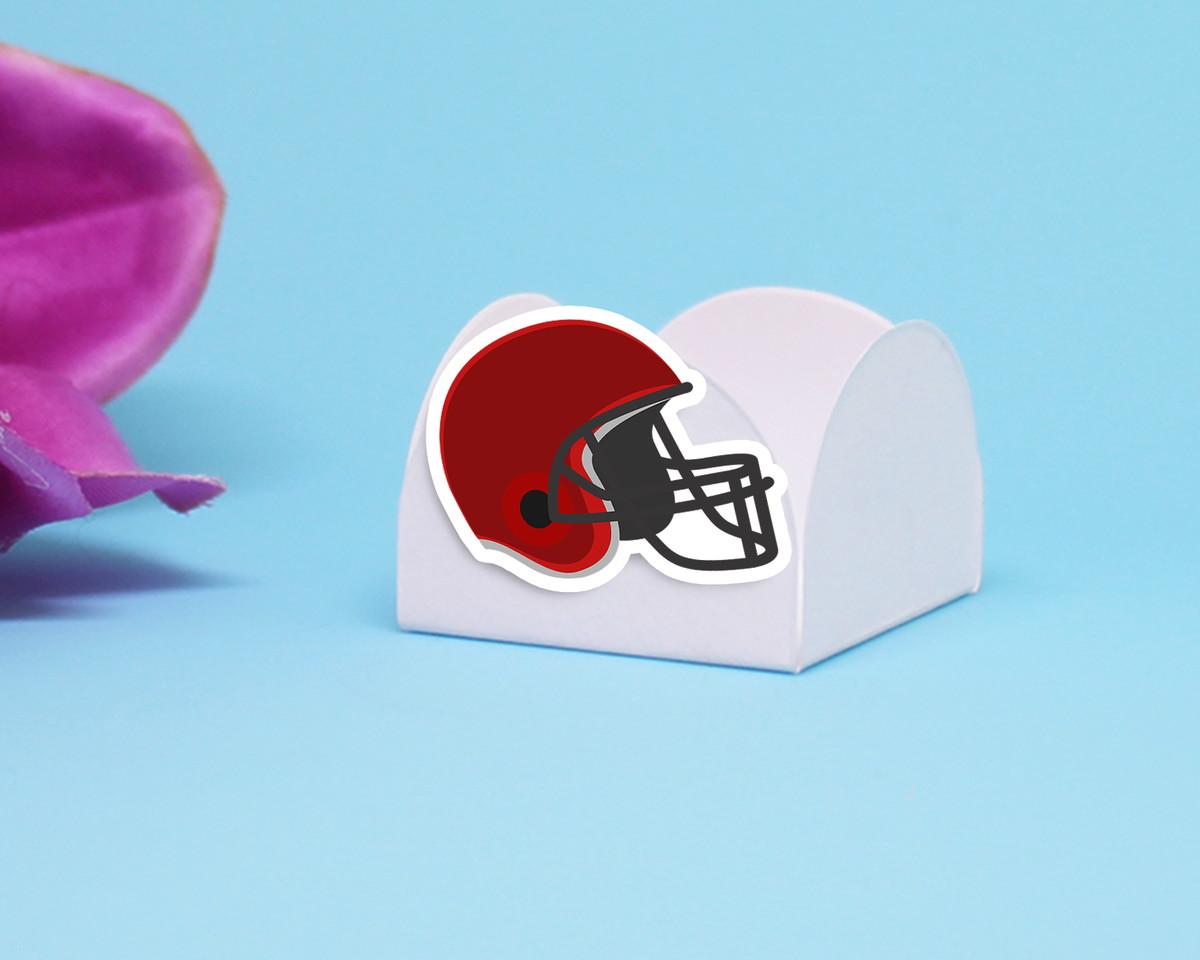 5baf0756e6 Forminha para doce - capacete futebol americano no Elo7