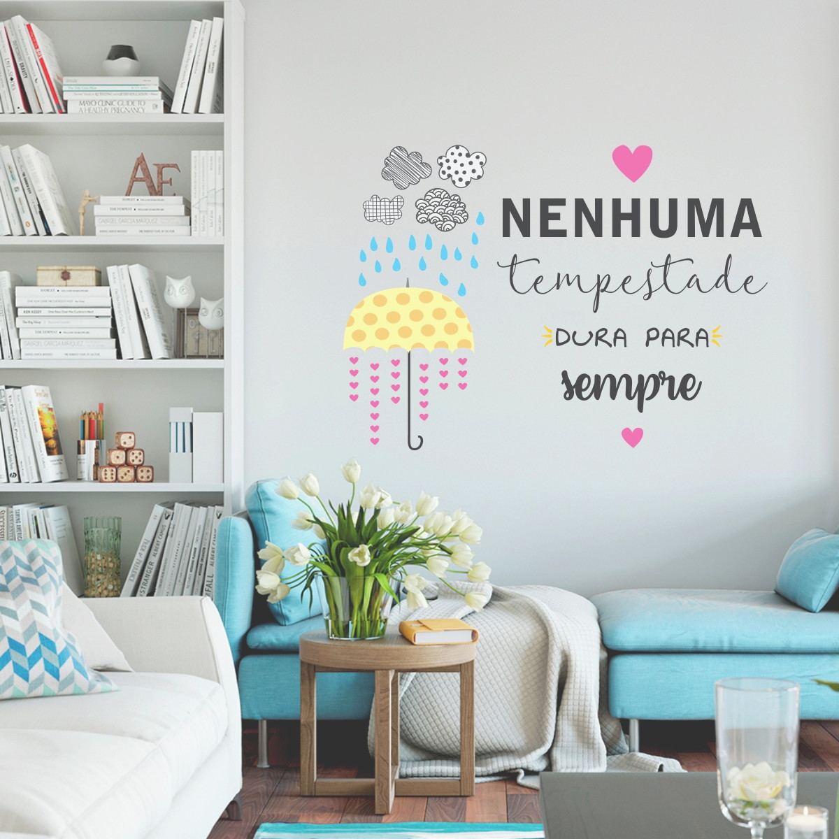 Adesivo Decorativo Tempestade