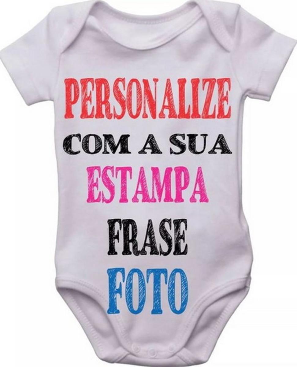 f9790db7c2 Body Bebê Roupa Infantil Criança personalizado frase foto no Elo7 ...