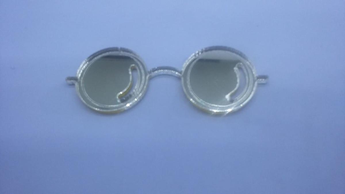 94a7f9d891842 Kits Óculos + Raio Harry Potter Acrílico Dourado no Elo7