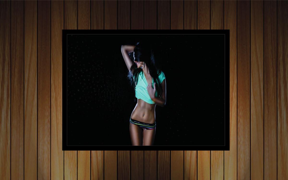 7f35b8315 Quadro Decorativo Lojas Vestuário Feminino Rm0382 no Elo7