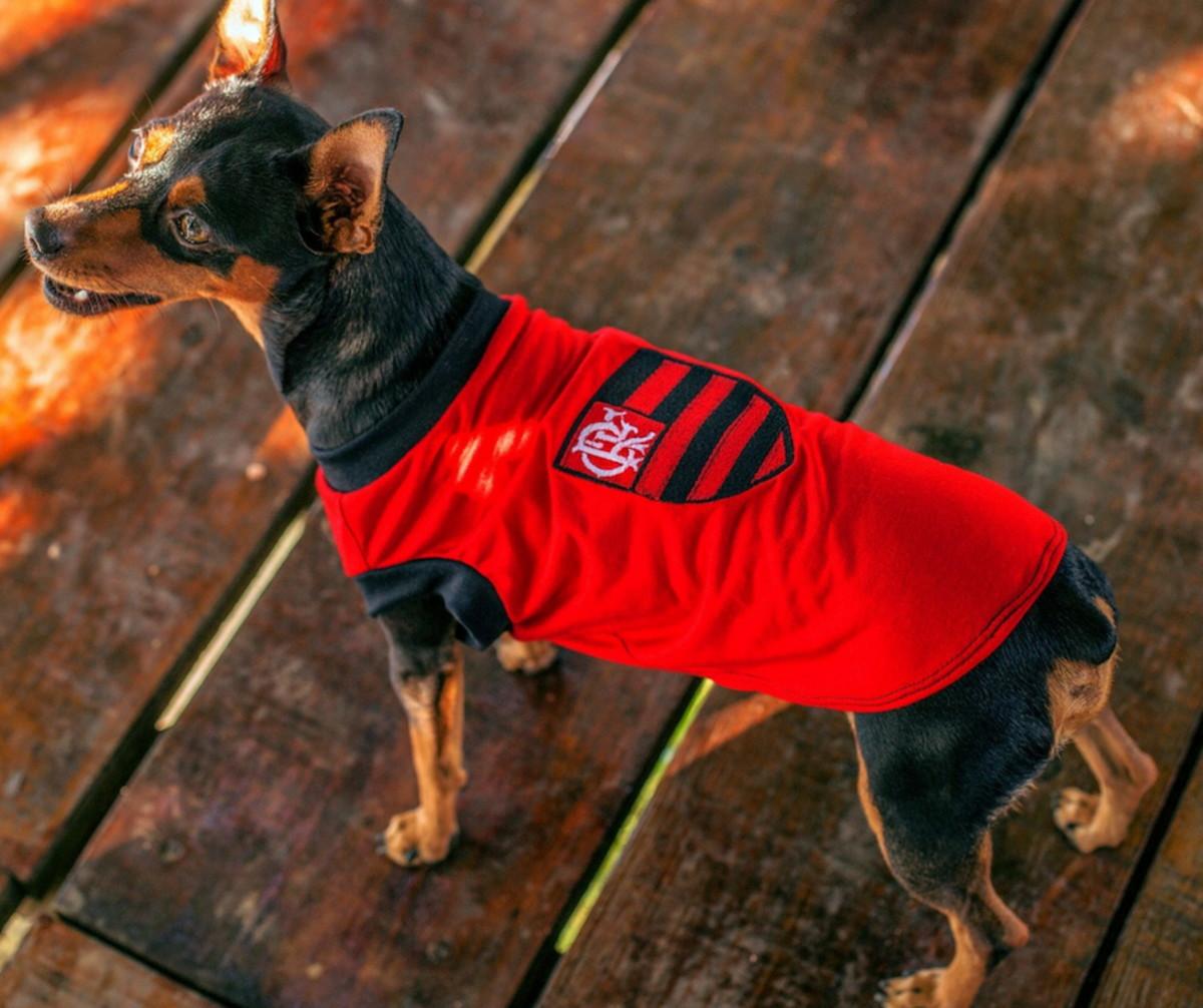 5ff5f2d0c7 Camiseta para Cachorro - Time Flamengo - XP ao XG no Elo7