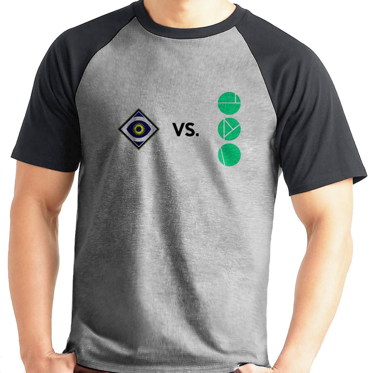 Camiseta Destiny 2 Desafio 9 Raglan Mescla Manga Curta no Elo7 ... e2e5c731c4e88